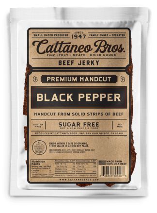 premium hand cut black pepper