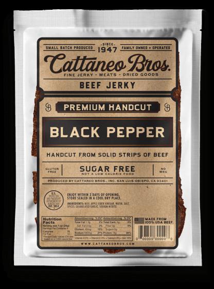 premium hand cut black pepper