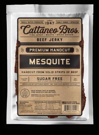 premium hand cut mesquite