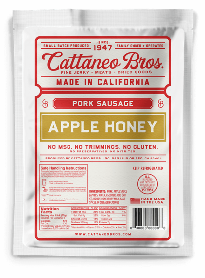 sausages apple honey