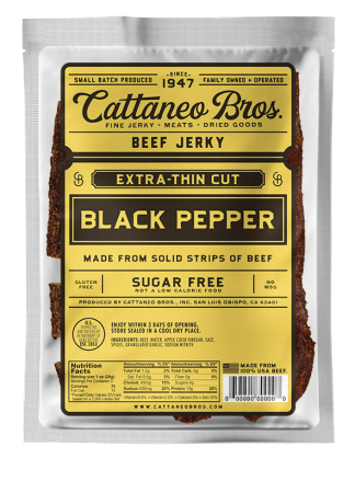 Extra Thin Cut Black Pepper