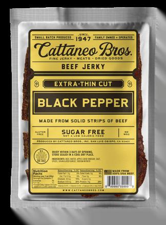 Extra Thin Cut Black Pepper