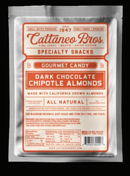 dark chocolate chipotle almonds