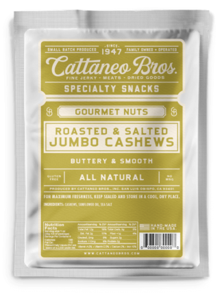 roasted salted jumbo cashews