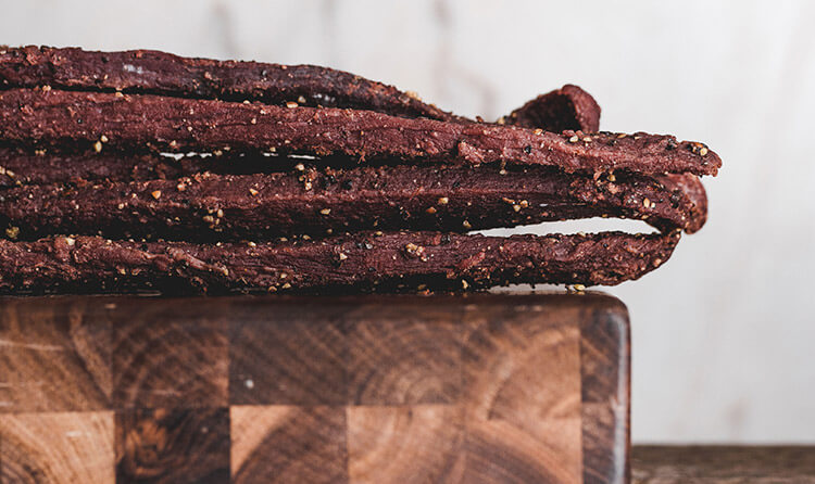 healthy snack jerky